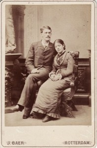 Verloving opa en oma Stoop-Van Deventer