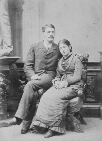 Verlovingsfoto uit 1878